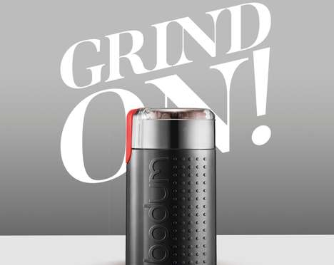 Efficient Coffee Bean Grinders - The Bodum Bistro Electric Coffee Grinder Perfectly Prepares Beans