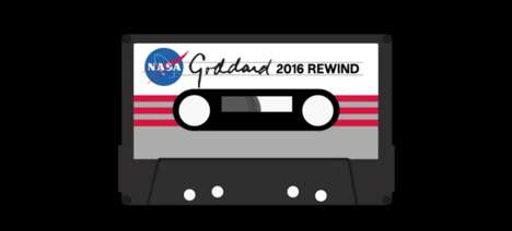 Spacey Year End Mixtapes - NASA's 'Goddard 2016 Rewind' is a Mixtape of the Agency's Highlights
