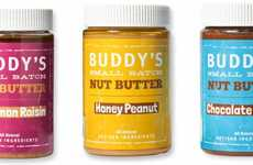 High-Quality Artisan Nut Butters - The Buddy's All-Natural Peanut Butters Come in Three Flavors