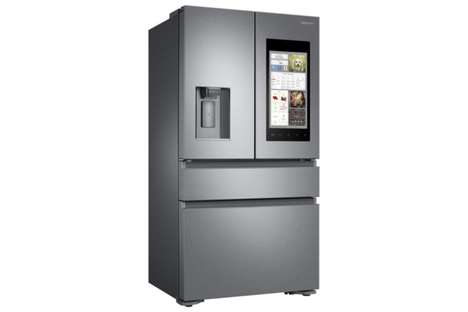 Intelligent Family Fridges - The Samsung Family Hub 2.0 Refrigerator will Come in 10 Models