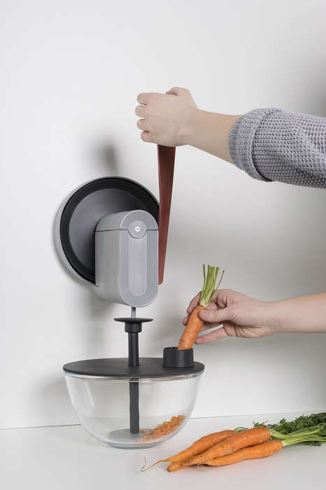 Multipurpose Kitchen Equipment - 'The Muscle, the Gear and the Carrot' Makes Preparation Unified