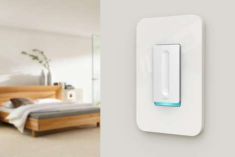 Smart Home Light Switches - The WeMo Smart Dimmer Switch Works with Light Fixtures and More