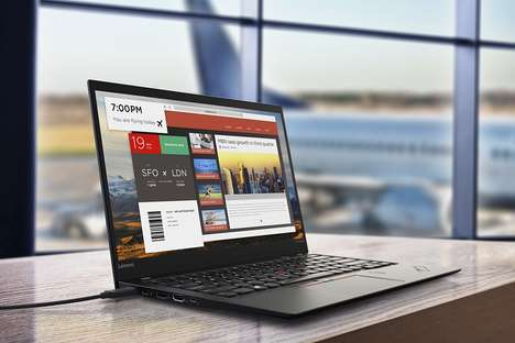 Compact Business Laptops - The Lenovo ThinkPad X1 Carbon Laptop Computer PC is Professional