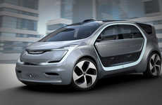 Electric Self-Driving Minivans - The Millennial-Focused Chrysler Portal Was Unveiled at CES 2017