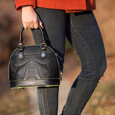 High-Fashion Sci-Fi Purses - The Star Wars Death Trooper Vegan Leather Bag is Officially Licensed