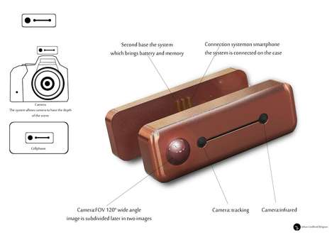 Smartphone-Connected Camera Enhancers - Johan Godfroid's Operational System is a Part of CES 2017