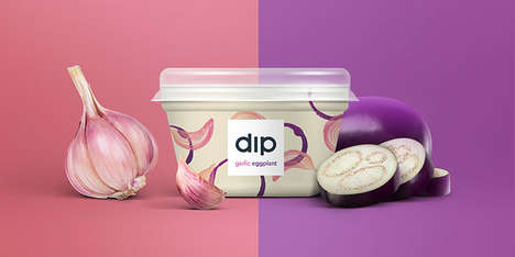 Artisanal Local Ingredient Dips - 'Double Dips' are Made with Ingredients Sourced from the Community