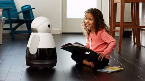 Emotive Interactive Robots - The Kuri Robot is a Cute Home Companion That Was Featured at CES 2017
