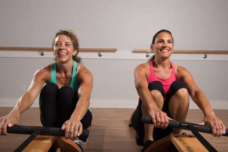 Boutique Rowing Studios - Toronto's Nucleo Fitness Combines Rowing with Pilates for a Unique Workout