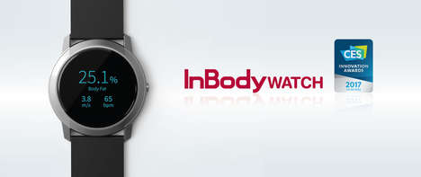 Body Composition Wearables - The InBody Watch Will Be Making Its Debut at CES 2017