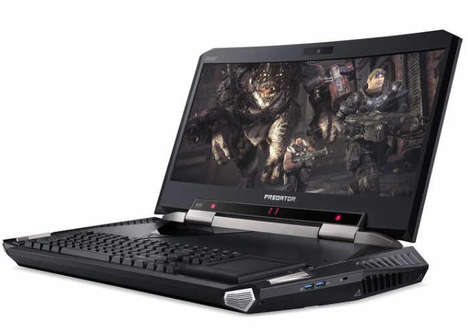 Dual-Power Supply Laptops - The Acer Predator 21 X Mobile Gaming Laptop Has a Curved Display