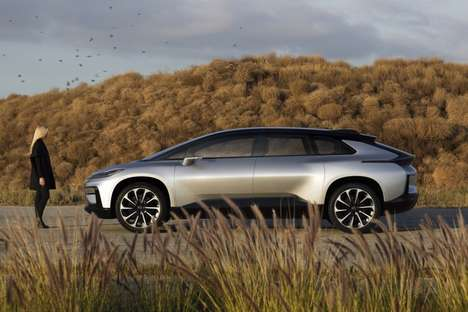Enhanced Safety Electric Vehicles - The Faraday Future FF 91 is at CES 2017 and will Launch in 2018