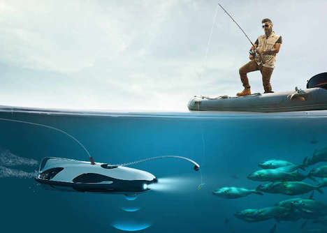 Fish-Finding Underwater Drones - The PowerRay Underwater Drone is Set to be Showcased at CES 2017