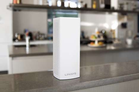 Connection-Maximizing Routers - The Linksys Velop Mesh Router System will Make its Debut at CES 2017