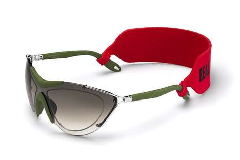 Sporty Couture Sunglasses - These New Givenchy Sunglasses are a Part of the Brand's VISOR Series