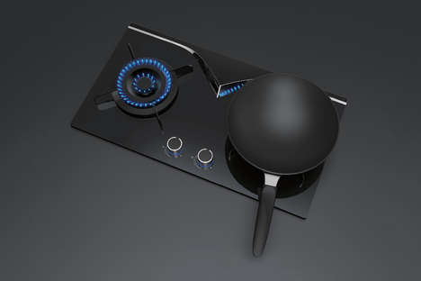 Flame-Monitoring Stovetops - The 'MirrorHob' Stove Range Allows Chefs to Keep an Eye on the Element
