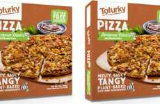 Gluten-Free Faux Meat Pizzas - The Tofurky Vegetarian Pizza is Made Using Chick'n and Roasted Corn