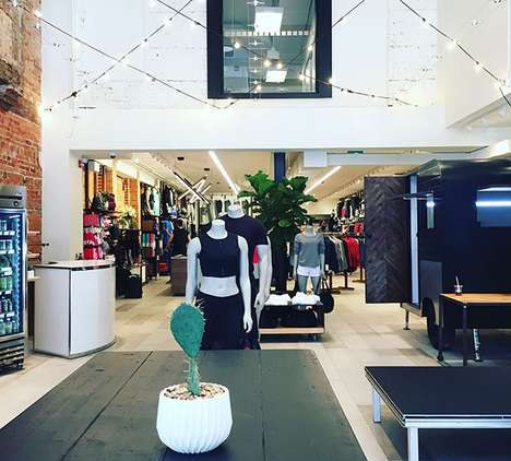 In-Store Yoga Lofts - The Attic at Lululemon Combines the Brand's Products with Yoga Classes