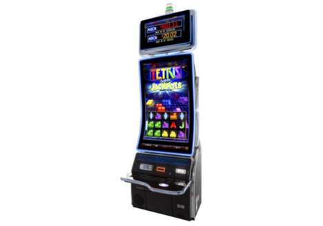 Arcade-Themed Slot Machines - The 'Tetris Super Jackpot' Game Was Designed for Casinos