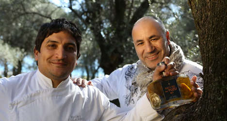 Yuzu-Infused Olive Oil - 'Chef's Olive Oil with Yuzu' Is a Gourmet Cooking Oil from France