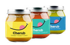 Cherubic Baby Food Jars