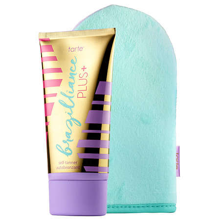 Naturally Exfoliating Tanning Gels - The Brazilliance Tanner Works Within Hours for a Bronze Glow