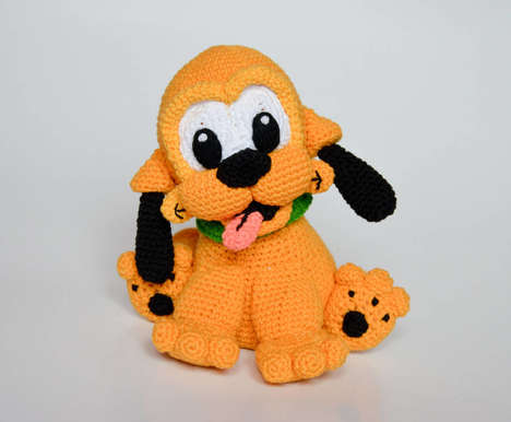 Crocheted Cartoon Characters - Kamila Krawczyk Offers Detailed Crocheted Characters on Her Etsy Shop