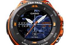 Locational Adventurer Smartwatches - The Casio WSD-F20 is a New Android Wear Device at CES 2017