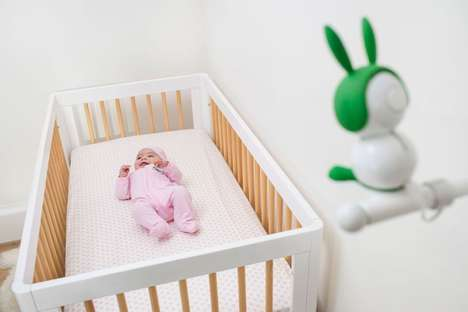 Mood Light Baby Monitors - The Arlo Baby Smart Monitor Keeps an Eye on Resting Infants and Kids