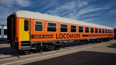 Infrastructure-Altering Rail Startups - Eco-Friendly Locomore Offers Cheap Train Tickets in Germany