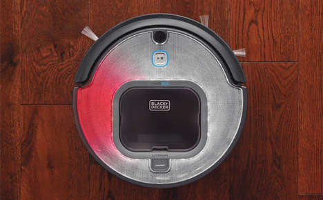 Dirt-Compressing Robot Vacuums - The Black & Decker Smartech Robotic Vacuum was Shown at CES 2017