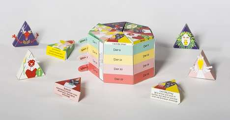 Playful Vitamin Boxes - SCAD Student's Designed a Children's Vitamin Box with Foldable Characters