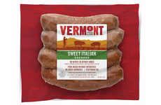 Artisanal Ingredient Sausages - The New Vermont Smoke & Cure Meat Sausages are Free of Nitrites