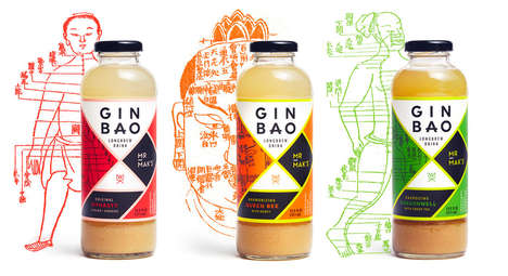 Eastern Ginger Brews - Mr. Mak's Ginbao Has Packaging Reminiscent of Ancient Medicines