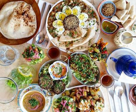 Authentic Arabic Brunch Spots - Maha's Brings Authentic Egyptian Cuisine to Toronto's East End