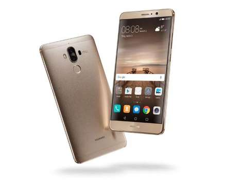 Voice Assistant Smartphones - The Huawei Mate 9 was Announced by the Brand at CES 2017