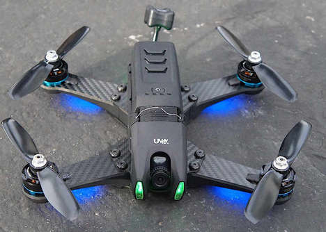 Blazing-Fast Racing Drones - The UVify Draco Quad Racing Drone was Showcased at CES 2017