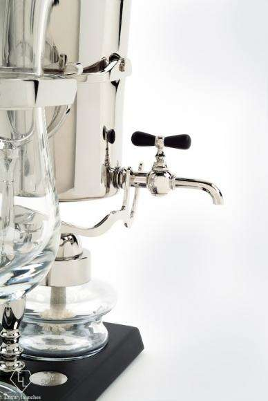 Golden Siphon Coffee Makers - Royal Paris' 'Royal Coffee Maker' is Handcrafted from Precious Metals