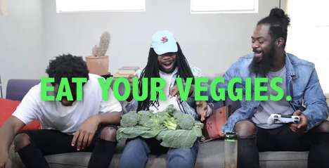 Veggie-Promoting Rapper Ads - This D.R.A.M. & PETA Commercial Encourages Viewers to Eat Their Greens
