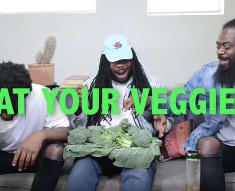 Veggie-Promoting Rapper Ads