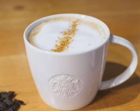 Artisan Cherry Lattes - This New Starbucks Drink Uses Fruit and Has a Subtly Sweet Flavor