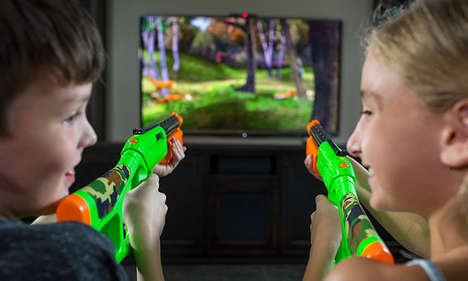 Hunter Arcade Games - The Sure Shot HD at CES 2017 Turns Any TV into a Shooting Gallery