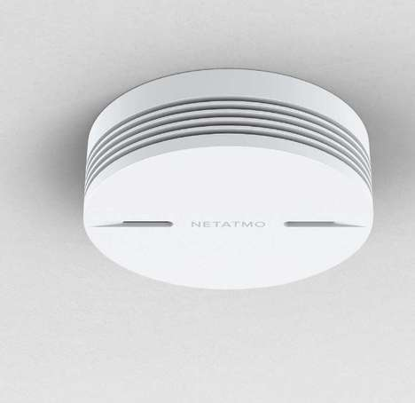 Intelligent Smoke Alarms - The Netatmo Smart Smoke Alarm is Being Introduced at CES 2017