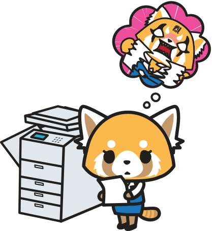 Millennial Anime Characters - Aggretsuko is a New Character from Hello Kitty's Sanrio Studio