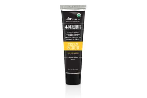 Hydrating Exfoliating Scrubs - S.W. Basics' Cream Scrub is the Perfect Solution to Flaky Winter Skin