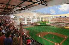 Multipurpose Baseball Stadiums