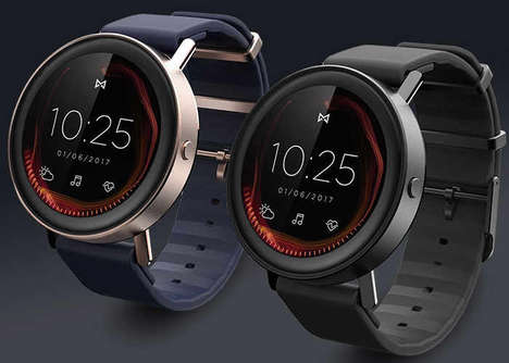 GPS-Tracking Smartwatches - The Misfit Vapor Smartwatch Device Can Operate Independently