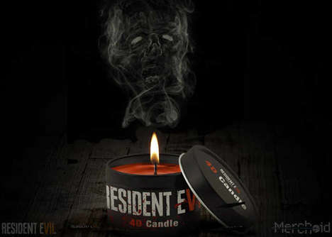 VR Game Candles - The Resident Evil 7 4D VR Wax Candle Creates a Gaming Atmosphere