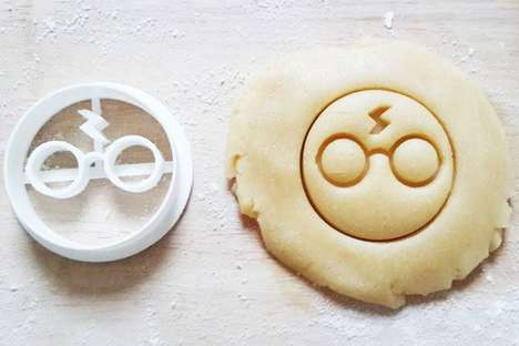 Magic Minimalist Cookie Shapes - These Harry Potter Cookie Cutters are an Ode to the Boy Who Lived