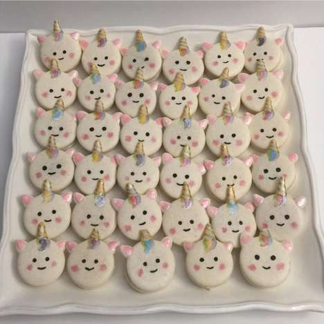 Homemade Unicorn Macarons - Tanglinipops Crafted Super Cute and Delicious Unicorn Macarons